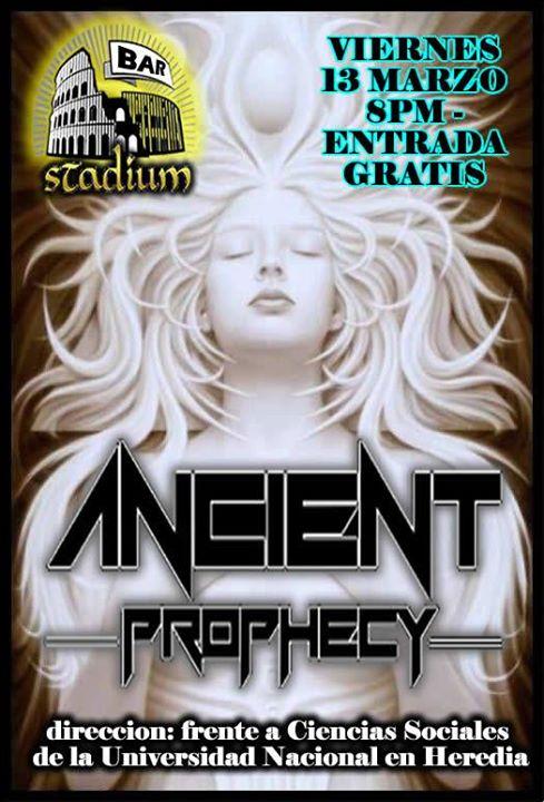 Ancient Prophecy en concierto!