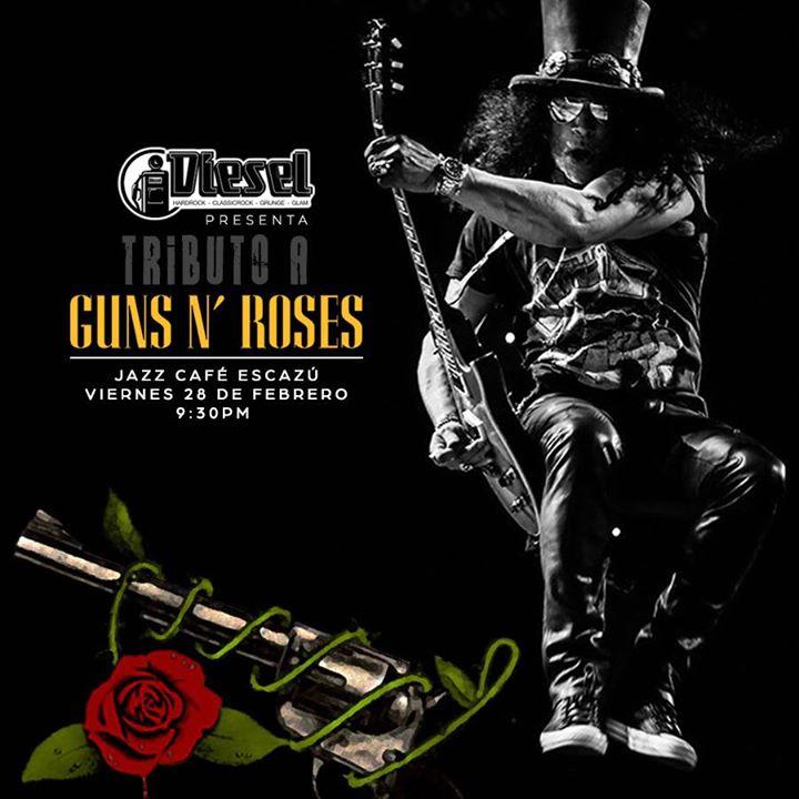 Guns N Roses por Diesel
