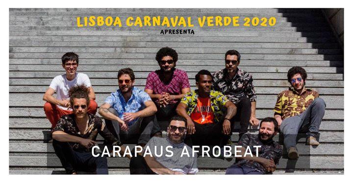 Carapaus Afrobeat no Lisboa Carnaval Verde 2020