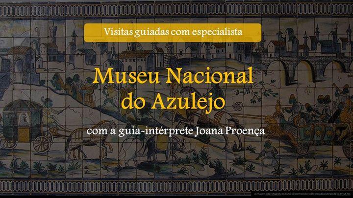 Visita guiada do Museu Nacional do Azulejo