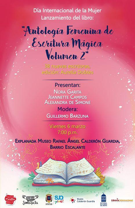 Lanzamiento 'Antología Femenina de Escritura Mágica Volumen 2'