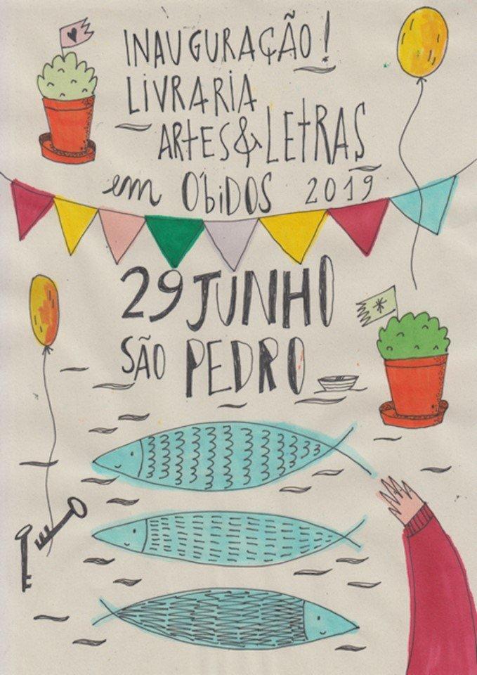 Inauguração |  Livraria Artes & Letras