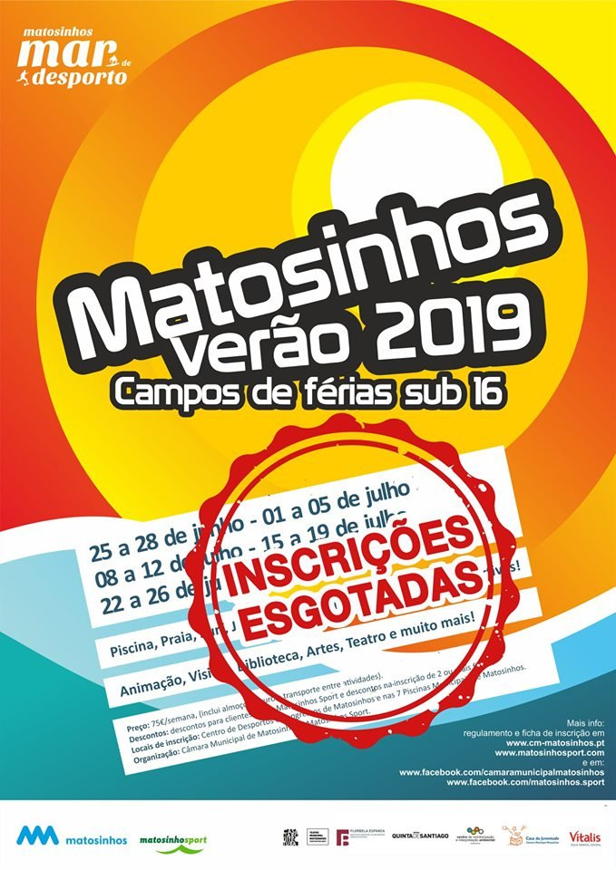 Matosinhos Verão 2019