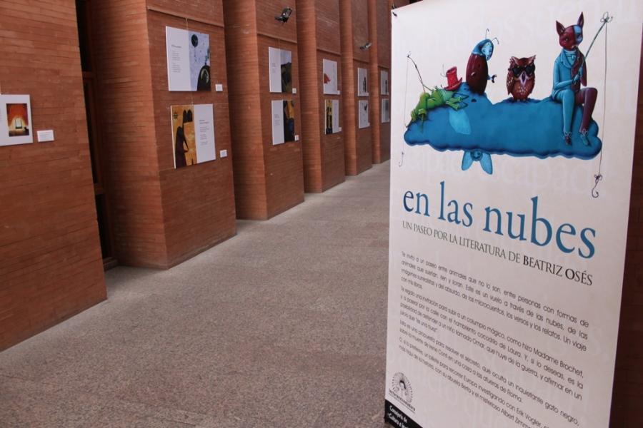 Exposición 'En las nubes: un paseo por la literatura de Beatriz Osés'