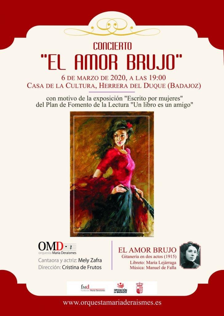 Concierto «El amor brujo» en Herrera del Duque