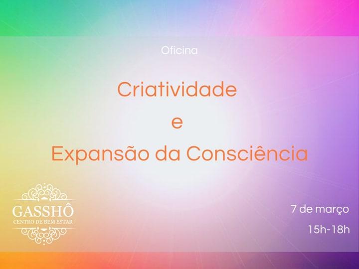 Oficina Criatividade e Expansão da Consciência