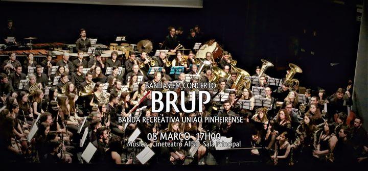 Bandas em Concerto | Banda Recreativa União Pinheirense