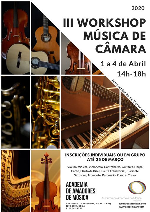 III Workshop de Música de Câmara