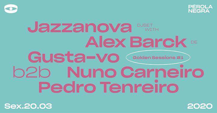 Golden Sessions #1 :: Jazzanova DJ Set w/ Alex Barck