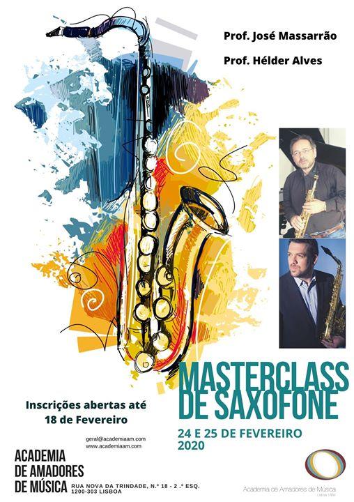 Masterclass de Saxofone