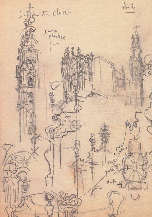 A arquitetura portuguesa no traço de Lucio Costa | José Pessôa