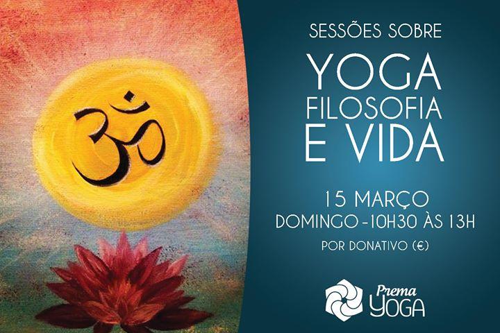 Sessão Sobre Yoga, Filosofia e Vida.