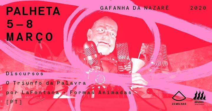 Discursos: O Triunfo da Palavra por Lafontana // Palheta