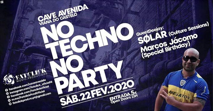 No Techno No Party Special HB Marcos Jácomo