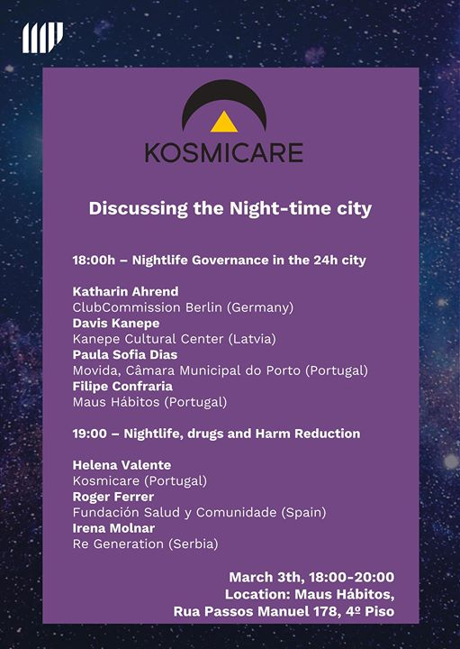 Discussing the Night-time city