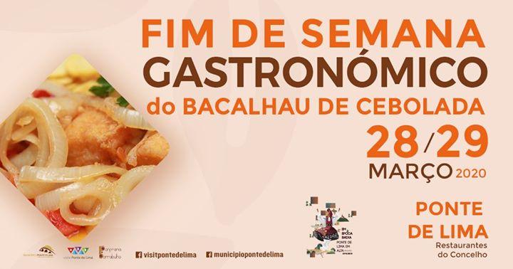 Fim de Semana Gastronómico do Bacalhau de Cebolada