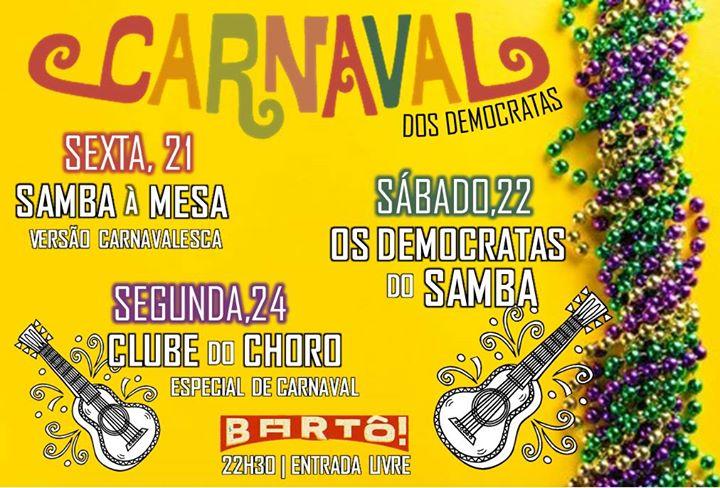 Clube do Choro de Lisboa | Especial de Carnaval