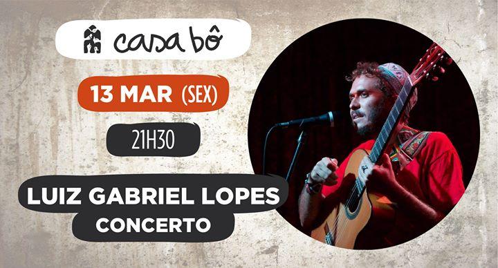 Concerto com Luiz Gabriel Lopes