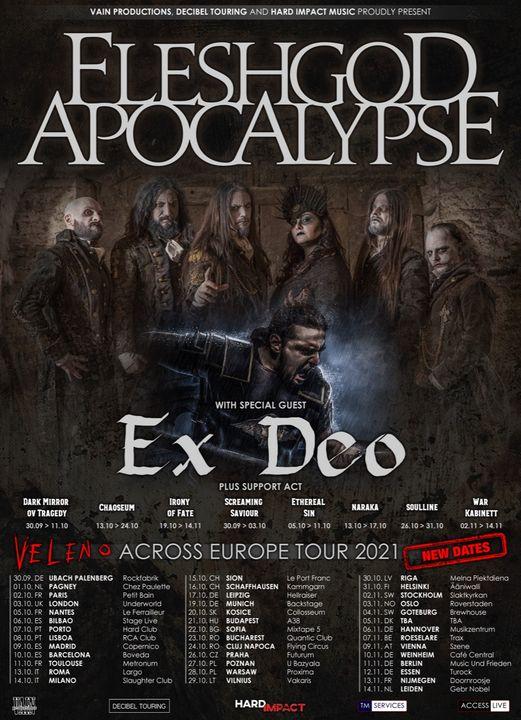 Fleshgod Apocalypse // Ex Deo - Hard Club Porto