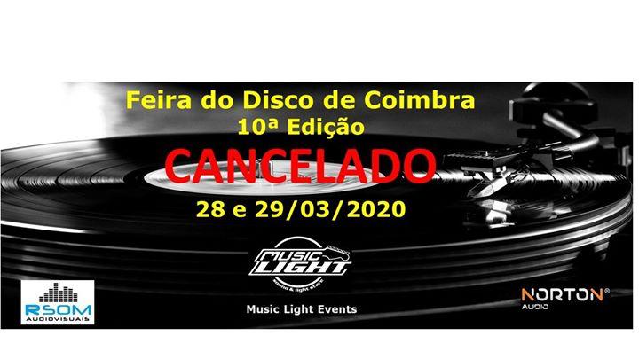 Feira do Disco de Coimbra, 10ª Edição - by Music Light Events