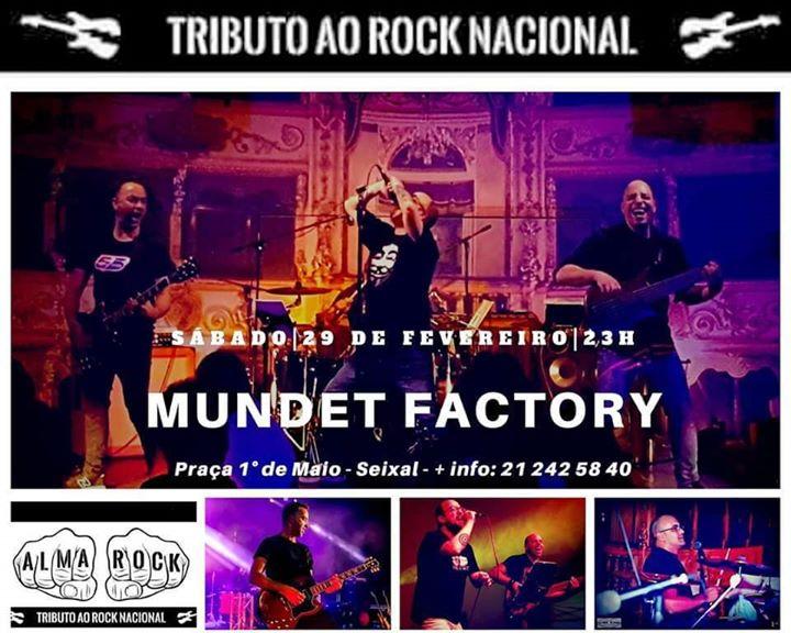 Alma Rock no MUNDET FACTORY