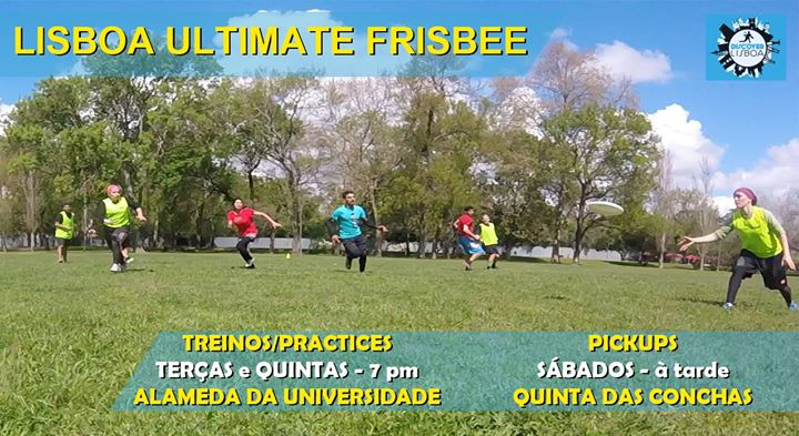Lisbon Ultimate Frisbee Training - 50 (2019/20)