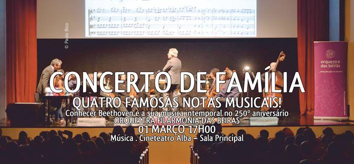 Concerto De Família - Quatro Famosas Notas Musicais!
