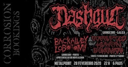 Nashgul [Grindcore - Galiza] • Metalpoint, Porto