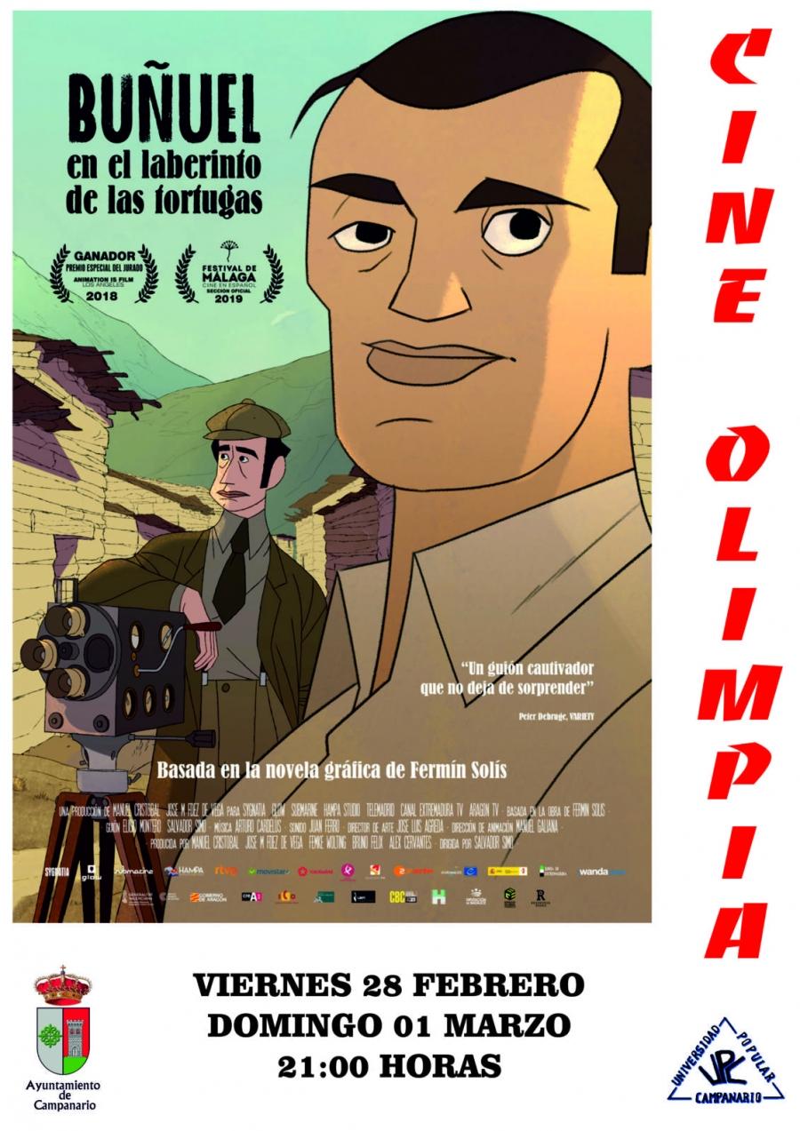 Cine:  'Buñuel en el laberinto de las tortugas'