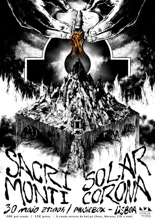 Sacri Monti + Solar Corona | Musicbox - Adiado