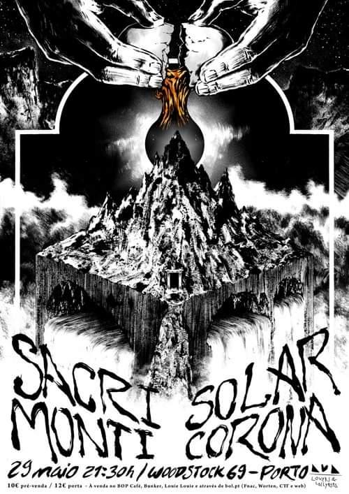 Adiado   Sacri Monti + Solar Corona - Woodstock 69 Porto