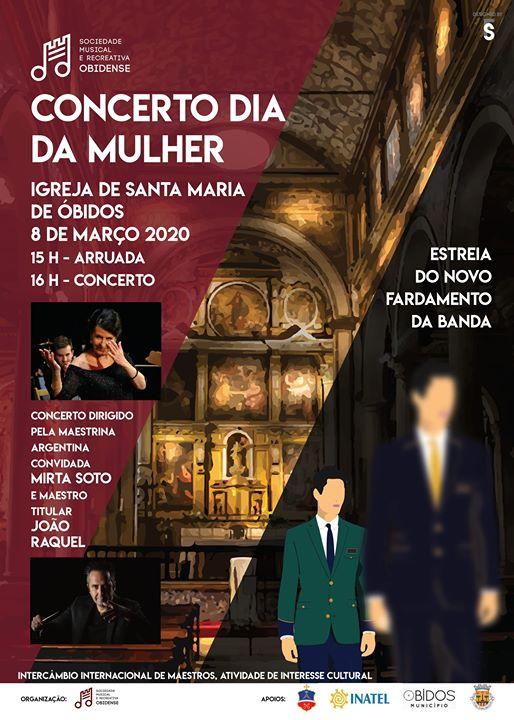 Concerto Dia da Mulher