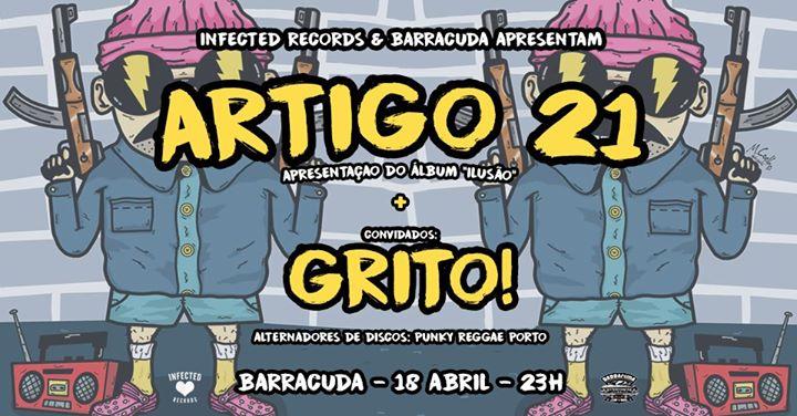 Artigo 21 + Grito! | Porto