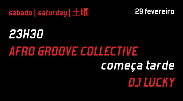 Afro Groove Collective + DJ Lucky