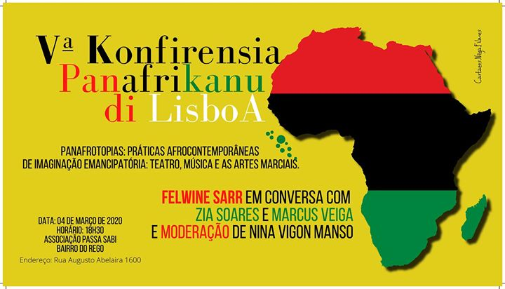 V Konfirensia Panafrikanu di Lisboa