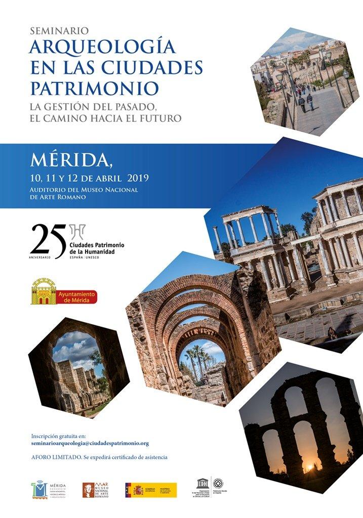 Seminario 'Arqueología en las Ciudades Patrimonio'