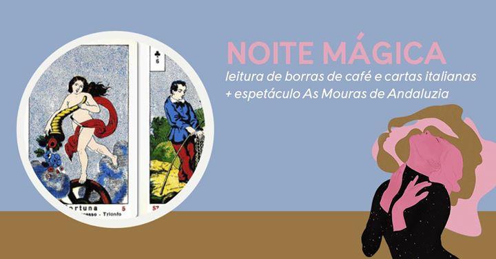 Noite Mágica | leituras de borras de café e cartas italianas