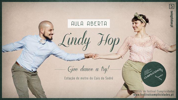 Aula Aberta • Lindy Hop • Festival Cumplicidades