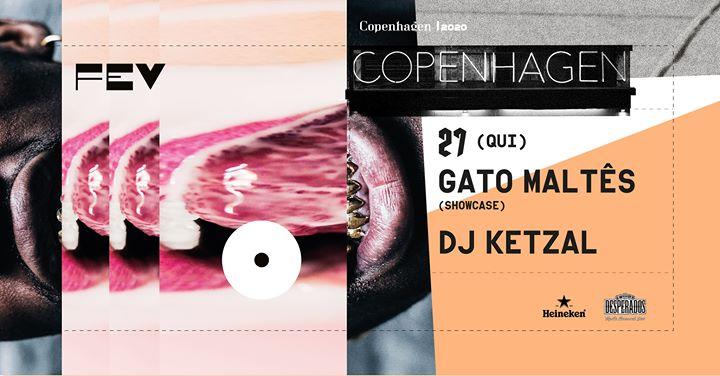 Gato Maltês (showcase) :: DJ Ketzal