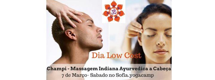 Dia Low Cost- Champi - Massagem Indiana Ayurvédica à Cabeça