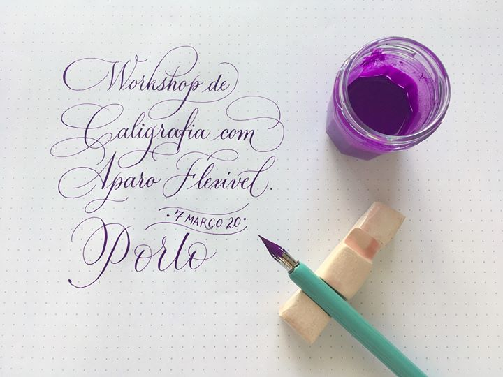 Workshop de Caligrafia e Lettering com Silvia Tapia