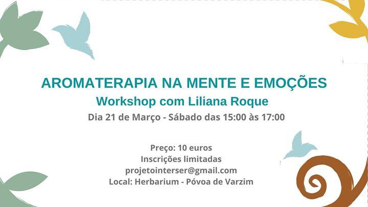 Workshop Aromaterapia na Mente e Emoções
