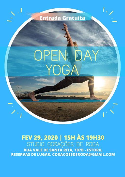 Open day Yoga - Estoril Praia da Poça