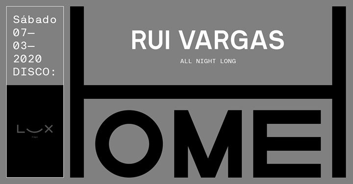 Home: Rui Vargas all night long