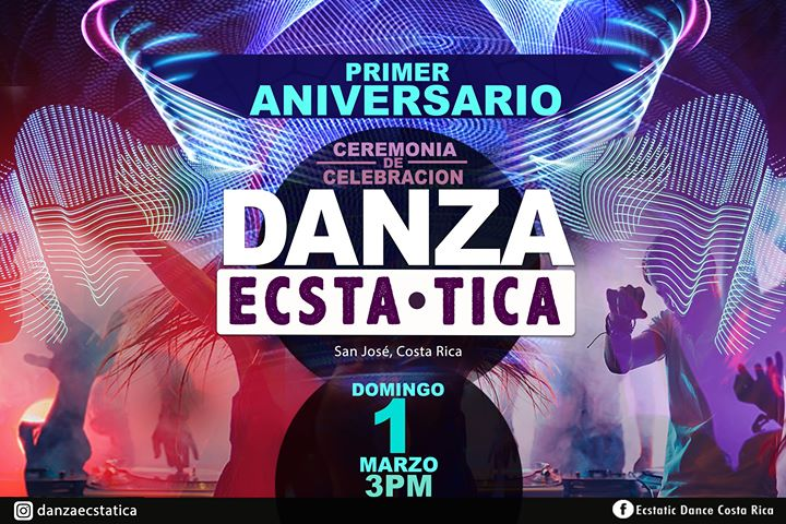 Danza Ecsta Tica Primer Aniversario