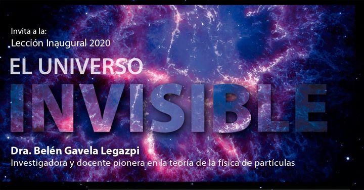 Lección Inaugural 2020: El universo invisible