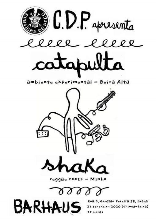 CDP eventos: Catapulta & Shaka