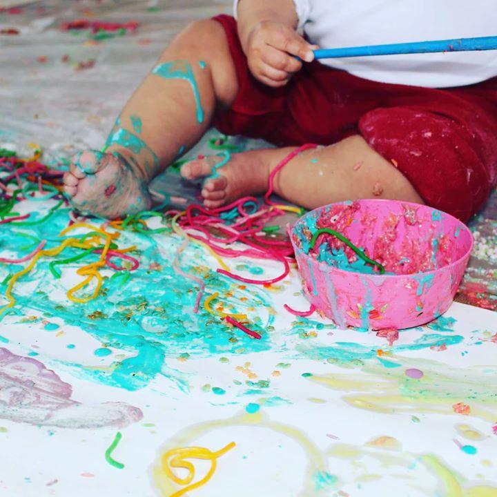 Viagem sensorial - As cores do arco-iris