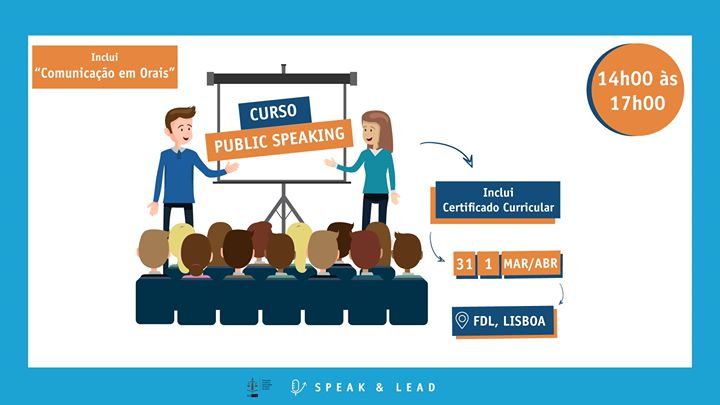 Curso Public Speaking - Lisboa - FDL