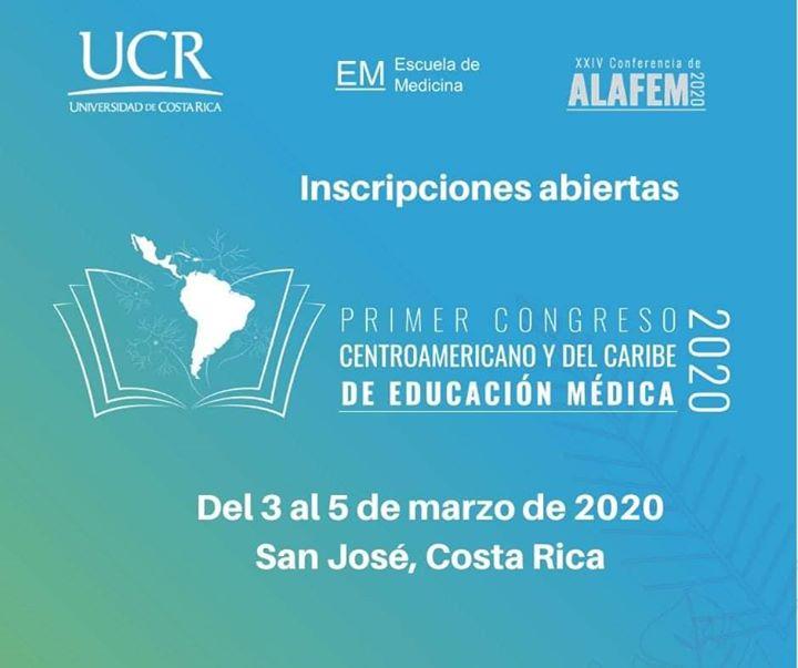 Primer congreso Centroamericano y del Caribe de Educación Medica